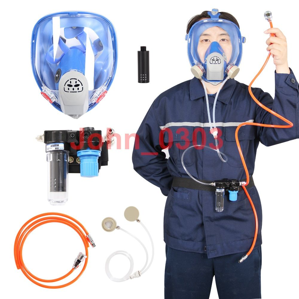 Geliefert Air Federal Atemschutzmaske System 6800 Spritzen Atemschutzmaske Gasmaske