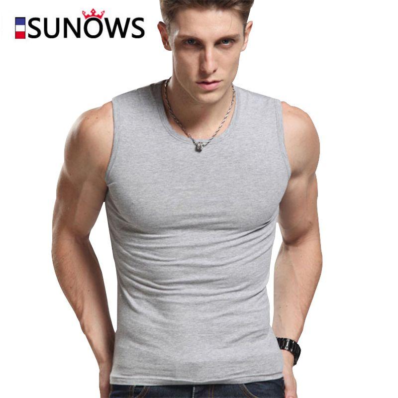 Herren Tank Tops Fashion 100% Baumwolle Marke Sleeveless Unterhemden Für Männer Bodybuilding Tank Tops Weiß Casual Sommer Weste m01