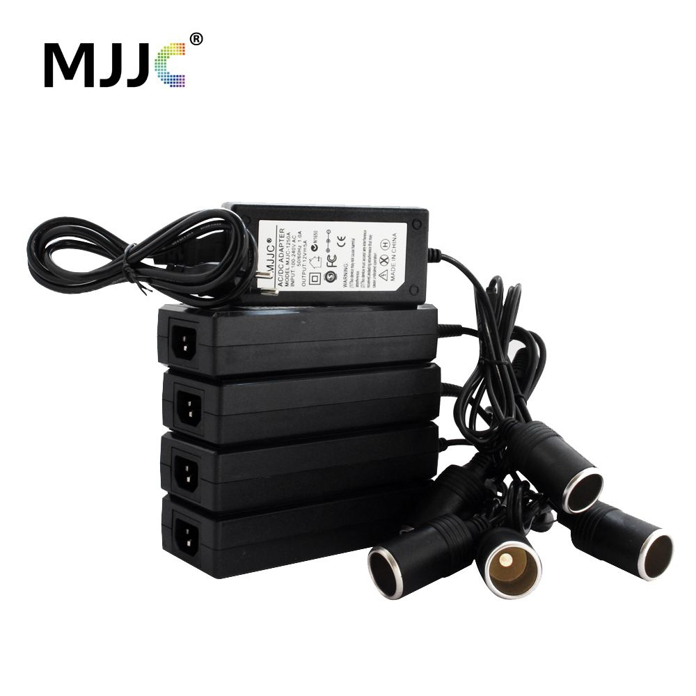 Car Cigarette Lighter AC Adapter 12V 10A 110V 220V to 12V 5A Power Adapter Converter Inverter DC Cigaret Transformer Lighter