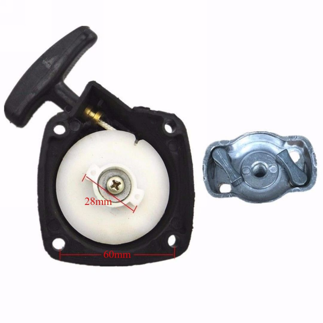 New Recoil Pull Starter & Pawl For Hedge Trimmers Mayitr Strimmer Brush Cutter Lawn Mower Parts Spares Garden Tools