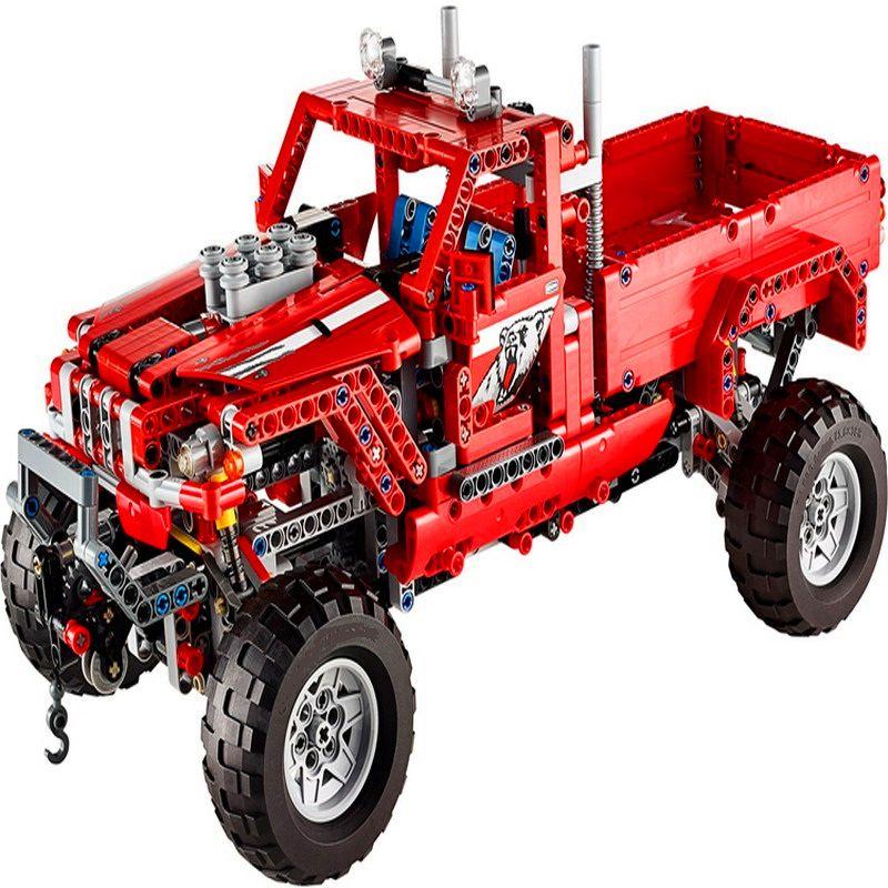 KAZI 3362 695Pcs Technic City 2 In 1 Pick Up Truck Model Building Block Toys DIY Educational Gift For Children Compatible Legoe