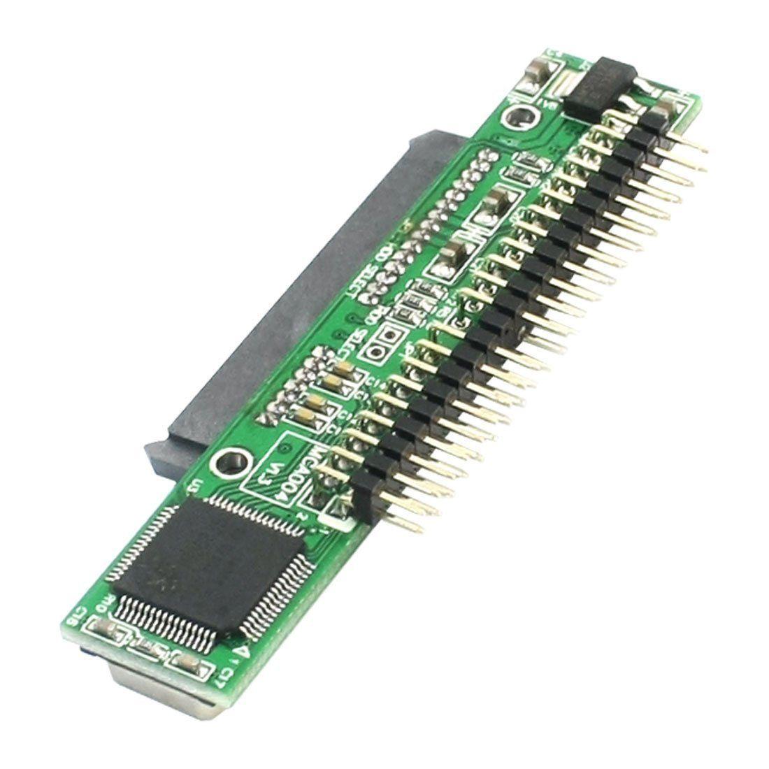 YOC 7 + 15 Pin SATA SSD HDD Buchse auf 2,5 44Pin IDE Stecker Adapter für Laptop