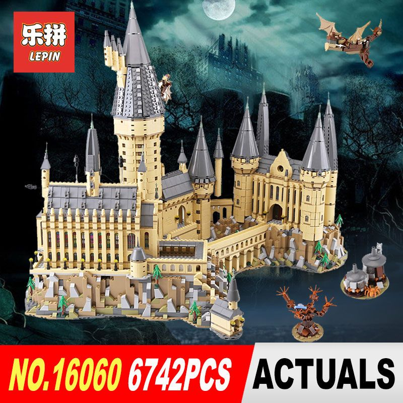 2018 Lepin 16060 Harry Magic Potter Hogwarts Castle School Compatible Legoing 71043 Building Blocks Bricks Educational Toy Model