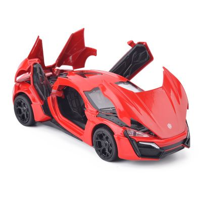 Fast And Furious Lykan Hypersport Alloy Cars Models Four Color Metal Cars Collection Toys For Children Diecasts & Toy Vehicles