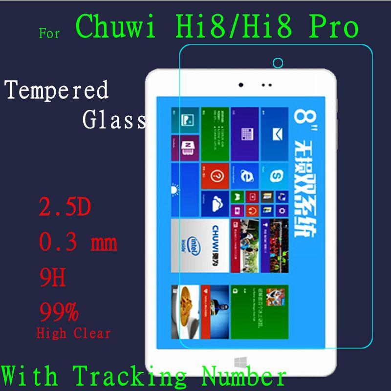 Hohe Klar Hi8 Glas Bildschirm Zu Schützen Film Für Chuwi Hi8 pro hartglas displayschutzfolie