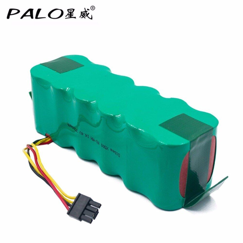PALO High Grade Battery Core 3500MAH 14.4V NI-MH Sweeper Rechargeable Battery For Dibea X500/580 Sweeping Machine