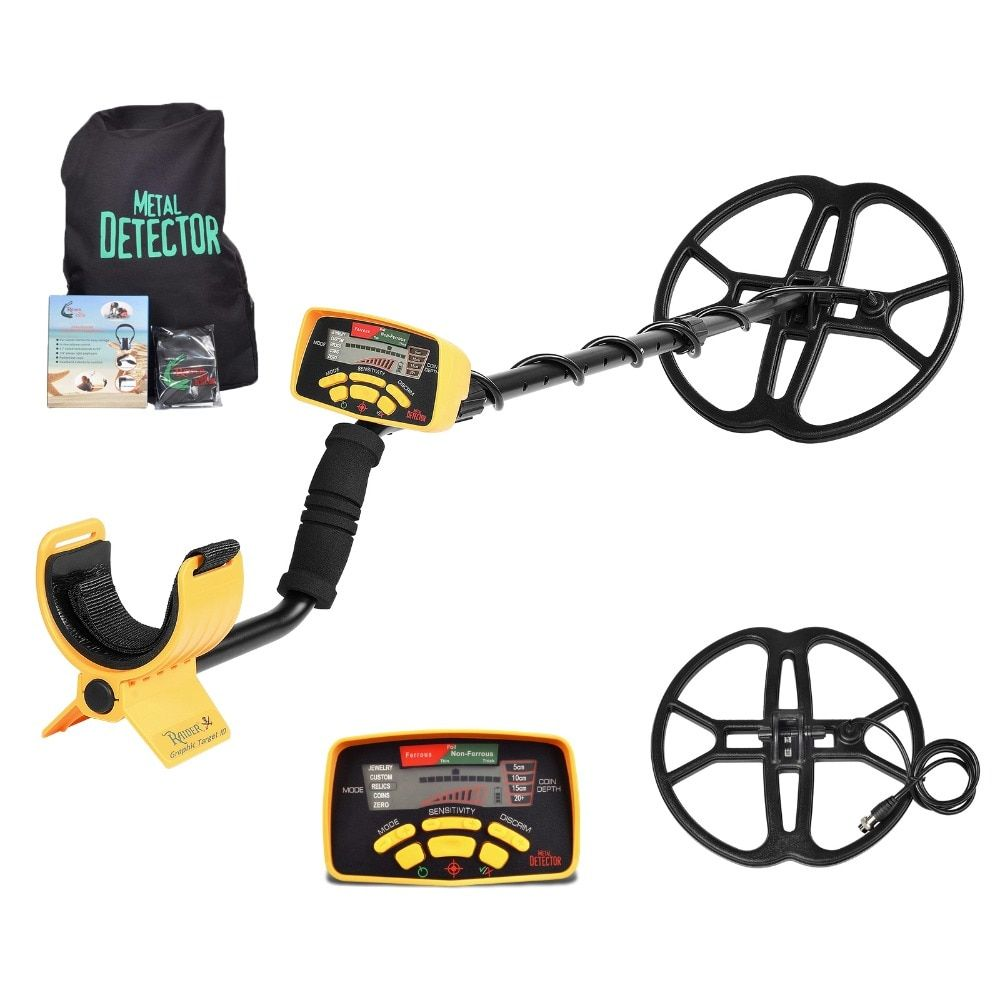 MD-6350 Underground Metal Detector Gold Digger Treasure Hunter MD6350/MD6250 Updated Professional Detecting Equipment Pinpointer