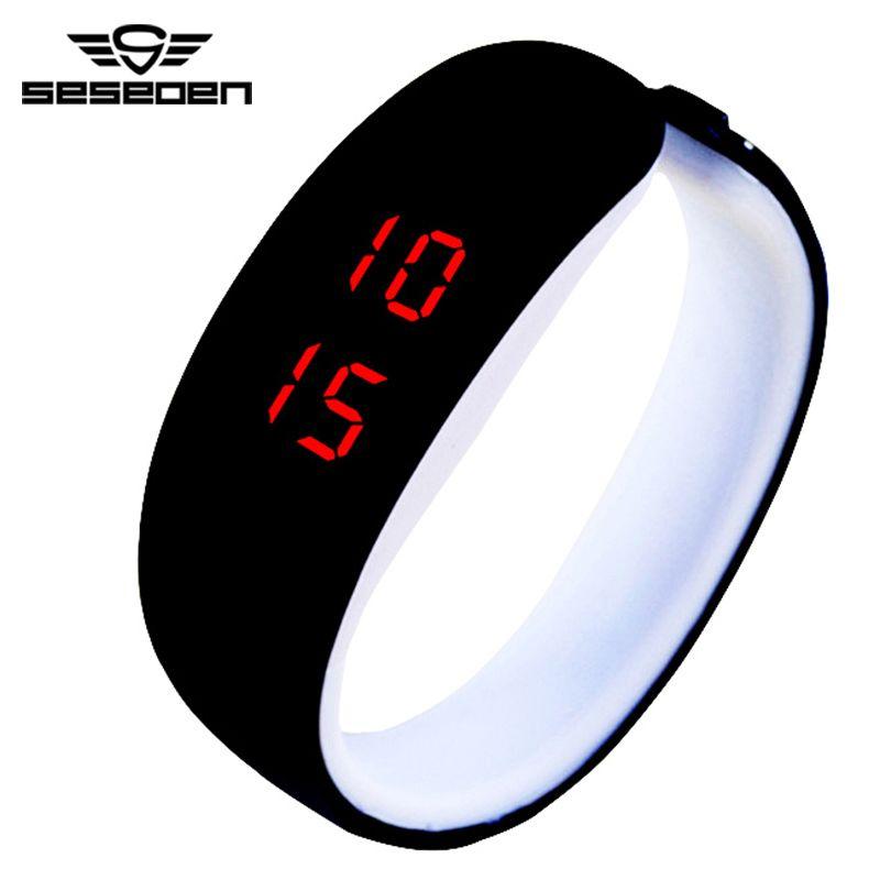 Для мужчин Часы мужской моды цифровой movt Военная Униформа светодиодные часы Водонепроницаемый спортивные наручные часы Relogio masculino наручные...