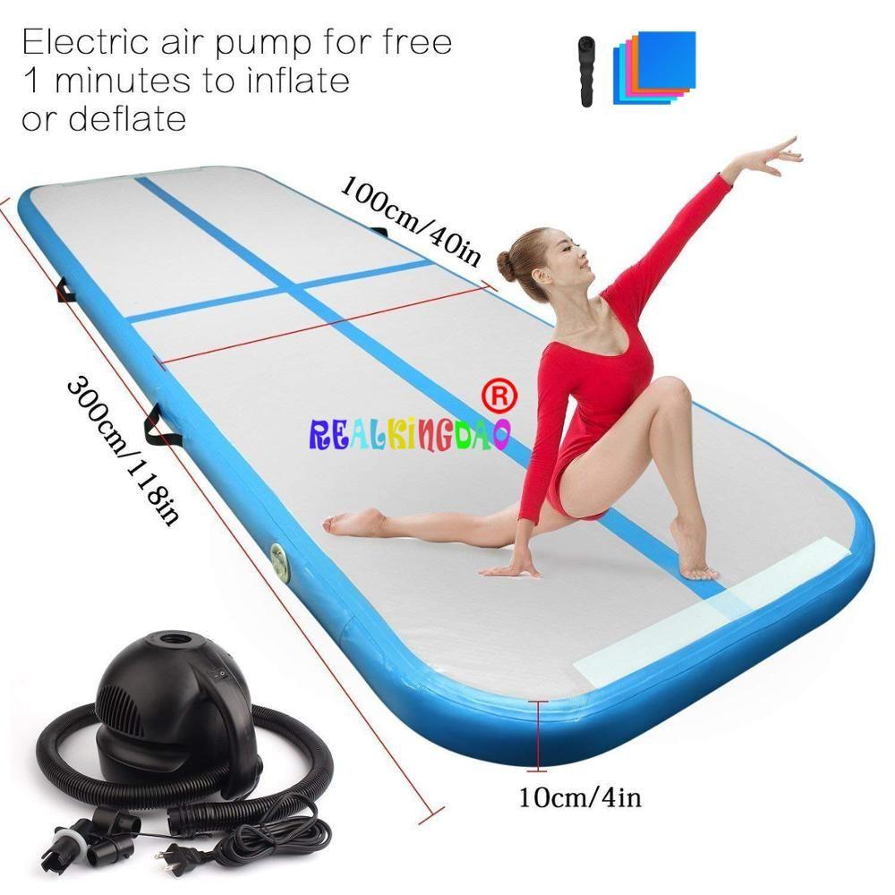 2019 neue Airtrack 3m 4m 5m Aufblasbare Luft Wäschetrockner Track Olympischen Gym Matte Yoga Aufblasbare Luft Gym air Track heimgebrauch Auf Verkauf