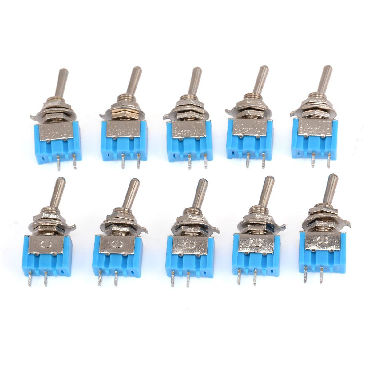 10 stücke MTS-101 2 Pin SPST Switch ON-OFF 2 Position 6A 250 v AC Mini Kippschalter 33 * 13*8mm Mayitr Elektrische Liefert