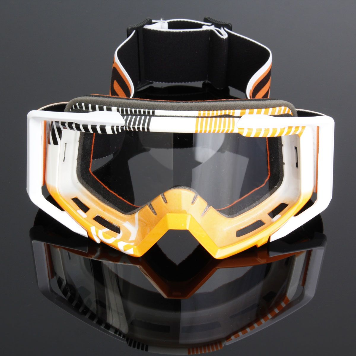 Dustproof Motorcycle Glasses Goggles Motocross Bike Flexible Goggles For Cross Country