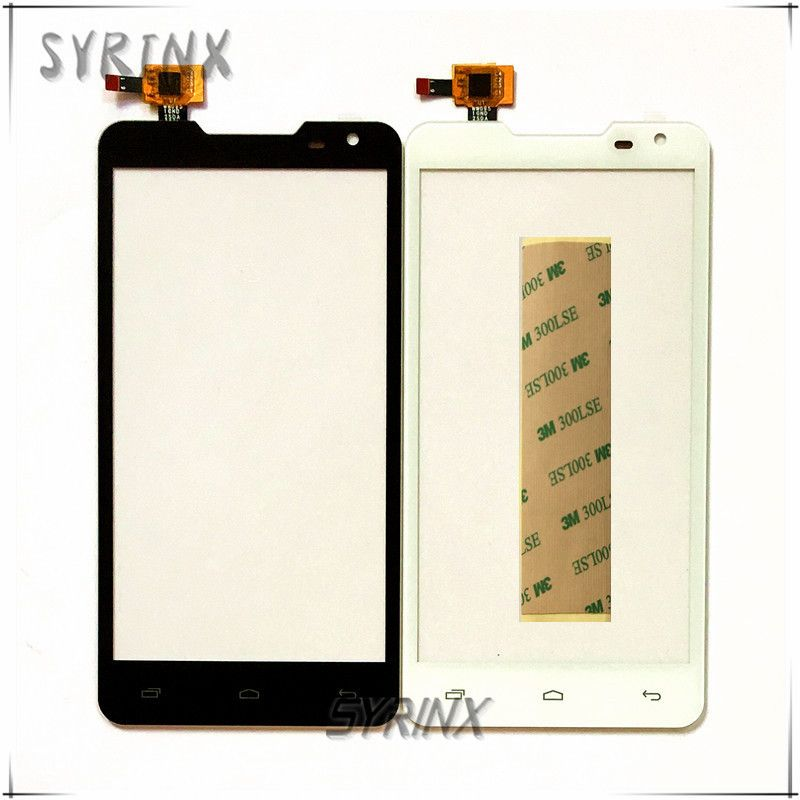 Syrinx + 3M Tape Touch Screen Digitizer For Prestigio MultiPhone Duo PAP 5044 PAP5044 Touch Panel Front Glass Sensor Touchscreen