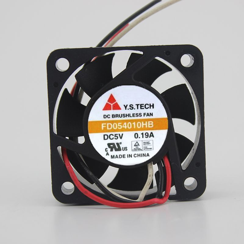 4010 Ball Cooling Fan FD054010HB 5V 0.19A