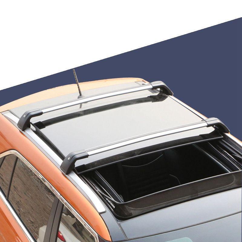 2pcs Universal Adjustable Car Roof Rack Cross Bar Crossbars Cargo Luggage Carrier Roof Racks Crossbars For Most Car