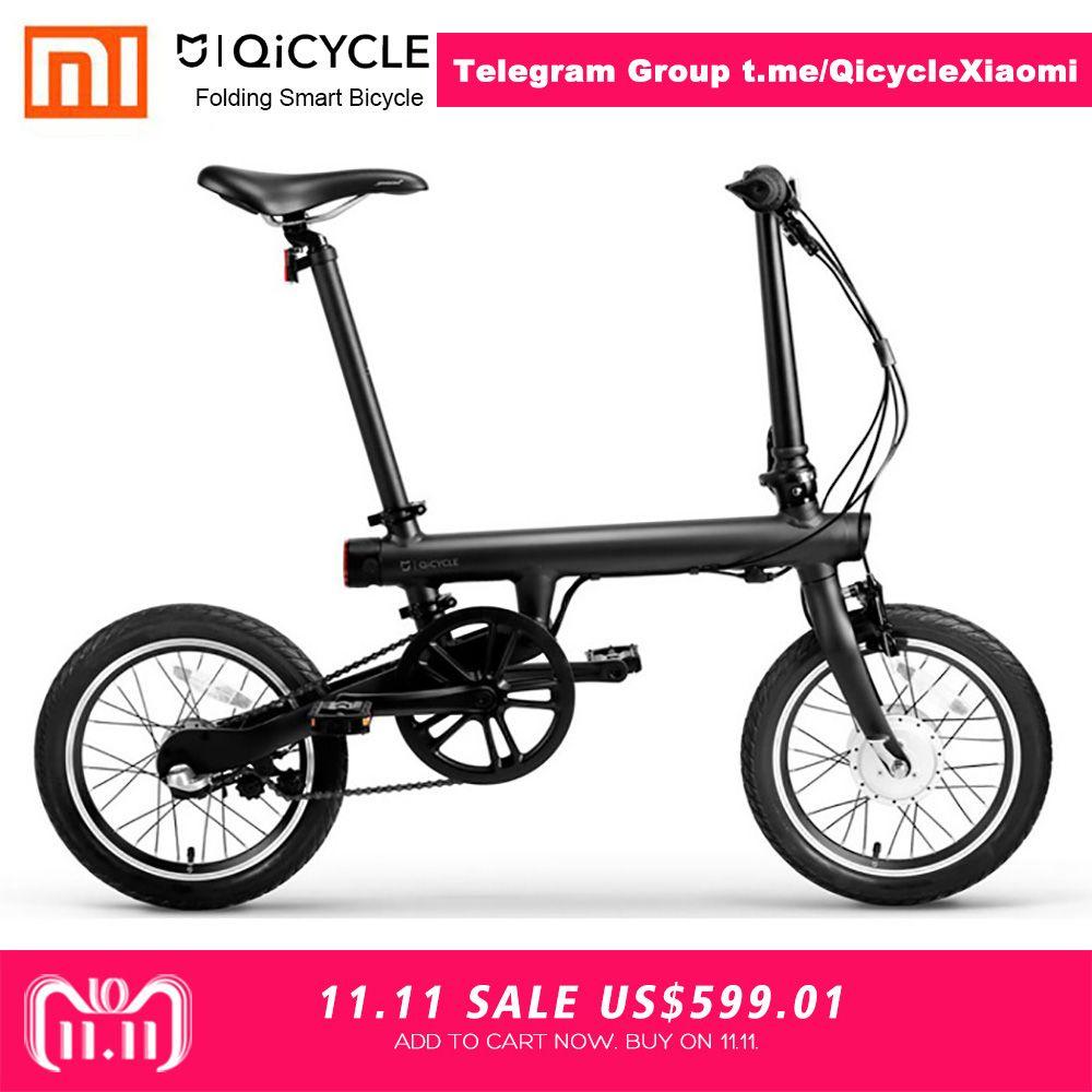 Xiaomi QiCYCLE-EF1 Folding Smart Elektrische Fahrrad Freies Verschiffen 100% OHNE STEUER Deal Exklusive für JUAN ANTONIO QiCYCLE GRUPPE
