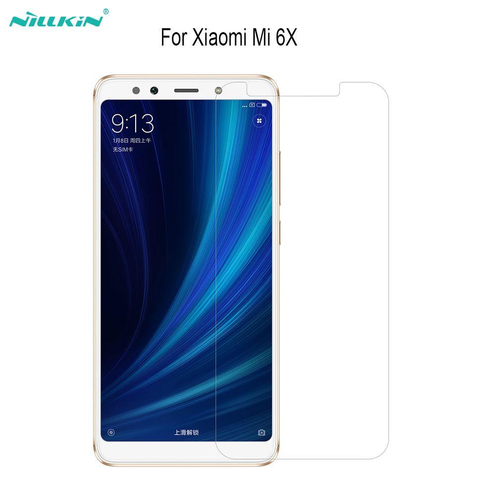 Pour Xiaomi mi 6X En Verre Trempé Écran Protecteur Nillkin Incroyable H H + Pro Anti-Explosion Écran De Protection Pour Redmi Note 3