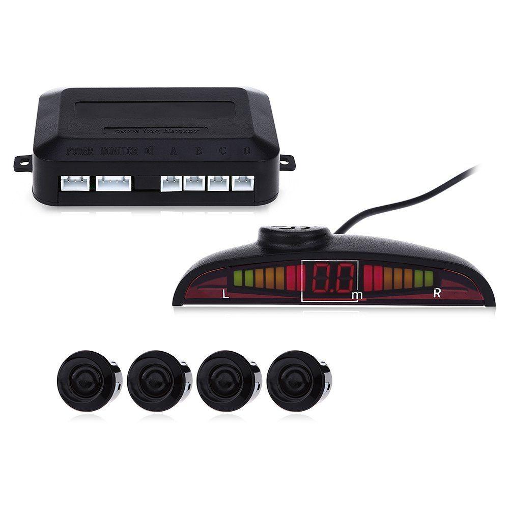 Hot Sale Car Parking Sensor Kit LED Display 22mm  Backup Radar Monitor Parking System Reverse Assistance Parking Sensors