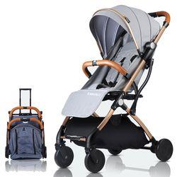Cochecito de bebé avión ligero portátil de viaje Pram cochecito de niños