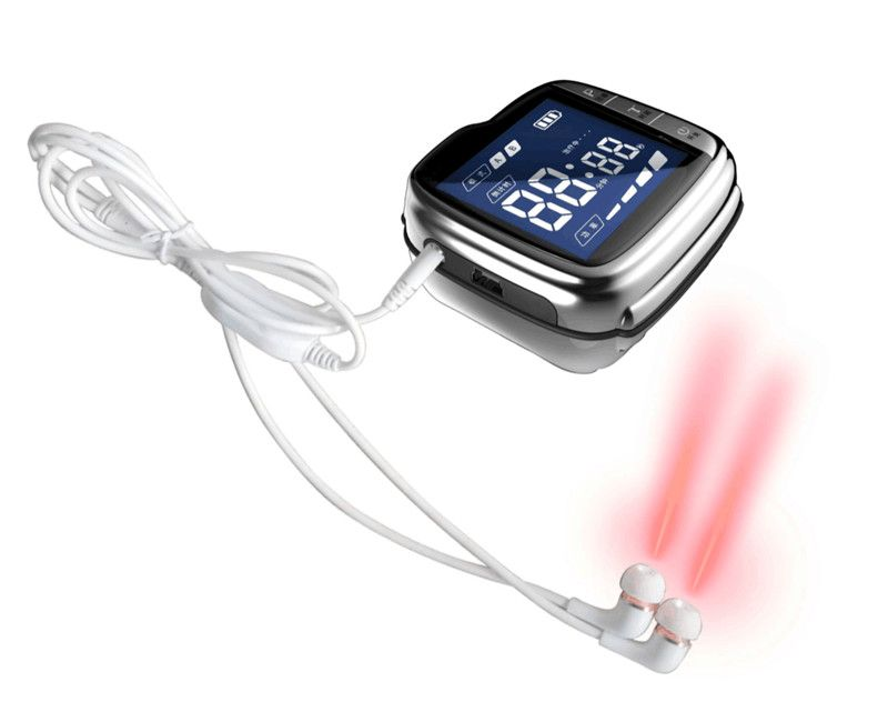 laser medical physiotherapy equipment for tinnitus hearing loss ear ringing ear diseases headache relieve device