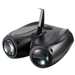 Música portátil Auto/Som Actived 128 RGBW CONDUZIU Luzes de Laser Efeito de Iluminação de Palco Club Disco DJ Party Bar KTV do casamento do Natal