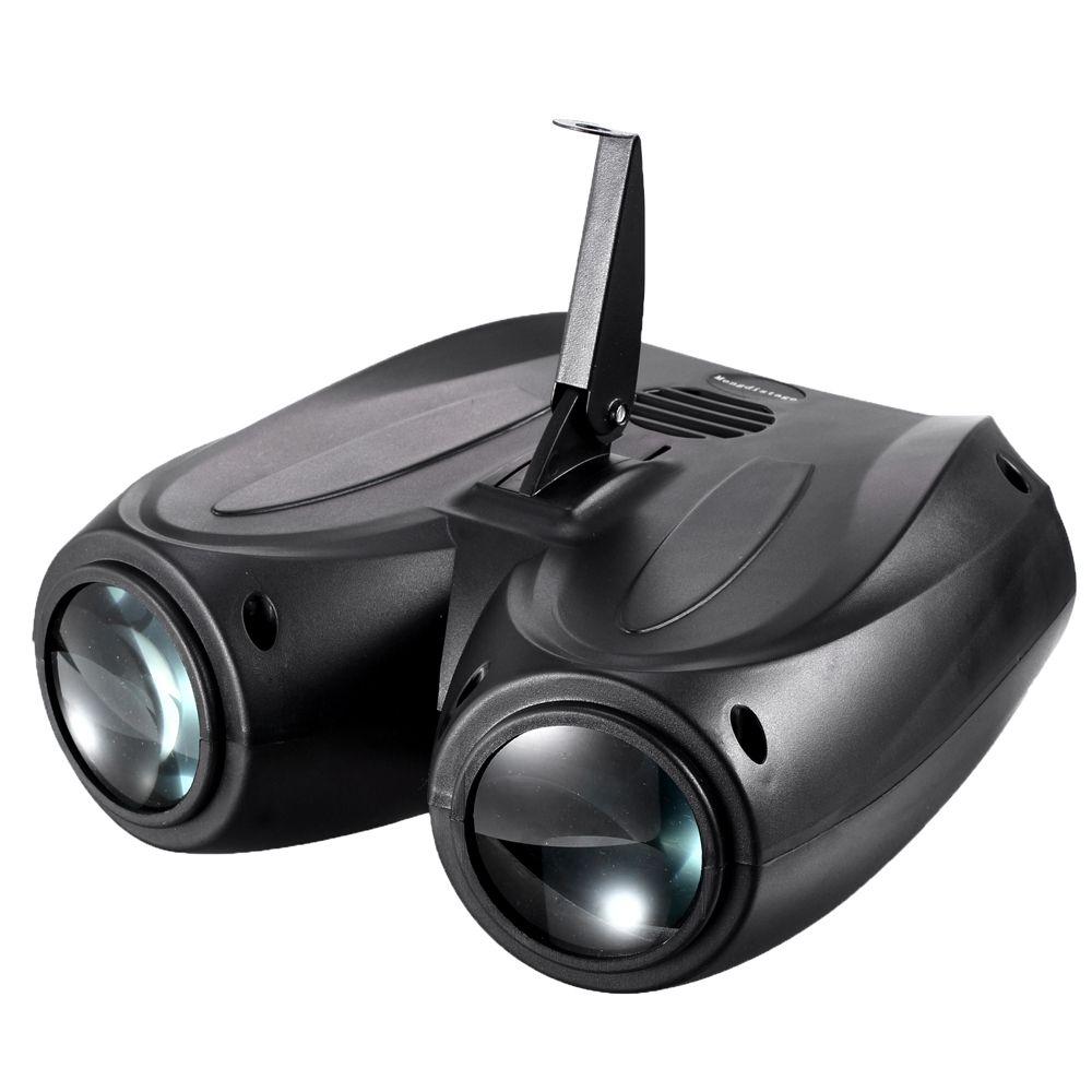 Portable musique Auto/son activé 128 LED RGBW lumières Laser effet de scène éclairage Club Disco DJ fête Bar KTV mariage noël