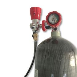 AC168101 pcp الهواء خزان 6.8L مضغوط مسدس هواء إلى هانت الألوان خزان الكربون الغوص خزان الأمن و حماية 4500psi خزان 2019