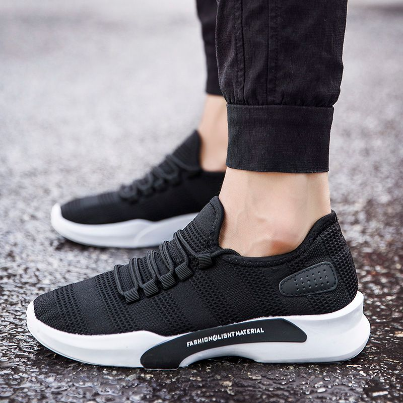 New Most Popular Style Men  Shoes Outdoor Walking Sneakers Comfortable Athletic Shoes Men For Sport Free Shipping