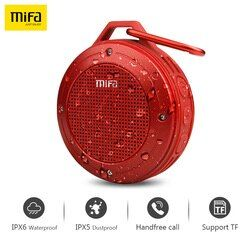 MIFA Wirless Bluetooth Speaker Built-In MIC Bluetooth Stereo IXP6 Tahan Air Outdoor Speaker dengan Bass Mini Portable Speaker