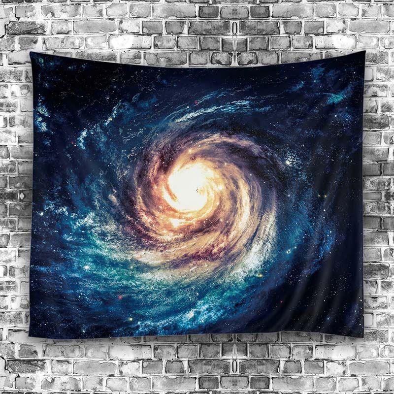 2017 Starry Sky Stars Mandala Tapestry Beach Table Cloth Hippie Blanket Scenery Decoration