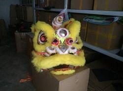 Sekolah Pesta Kualitas Tinggi Pur Lion Kostum Tari Terbuat dari Wol Murni Selatan Lion Ukuran Anak