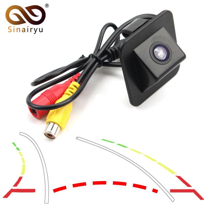 Sinairyu Intelligent Dynamic Trajectory Tracks Rear View Camera For 2012 Hyundai Elantra Avante Auto Reversing Parking Assistanc