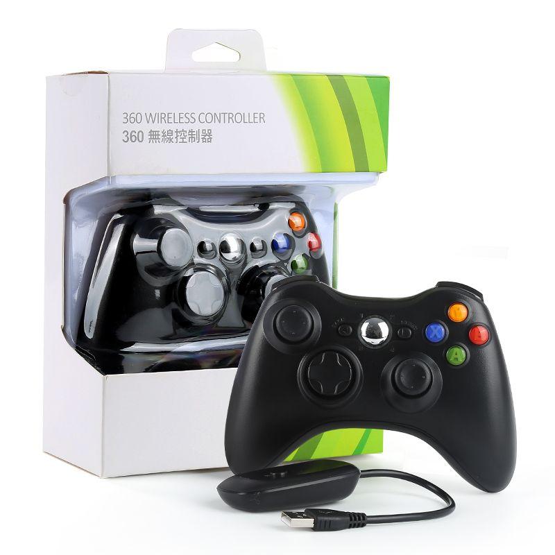 Chaude Gamepad pour XBOX360 Wireless Contrôleur de Jeu Joystick & PC Récepteur Contrôle Gamepads pour XBOX 360 Batterie Ne Pas Inclure