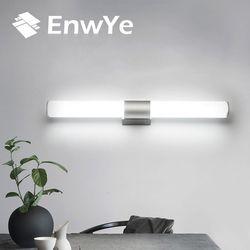 Enwye lámparas de pared Baño Led espejo luz impermeable 12 W 16 w 22 W ac85-265v tubo led lámpara de pared moderna baño Iluminación bd71