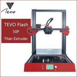 TEVO-3D Drucker kit drucker 3d druck Voll Aluminium Rahmen Druck Maschine Stabil und Schnell mit Titan Extruder 50 P 50%