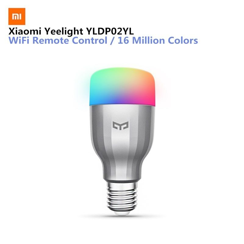 Xiaomi Yeelight YLDP02YL E27 9W 600LM RGBW Smart LED Bulb 16 Million Colors WiFi Enabled CCT Adjustment Support Google Home