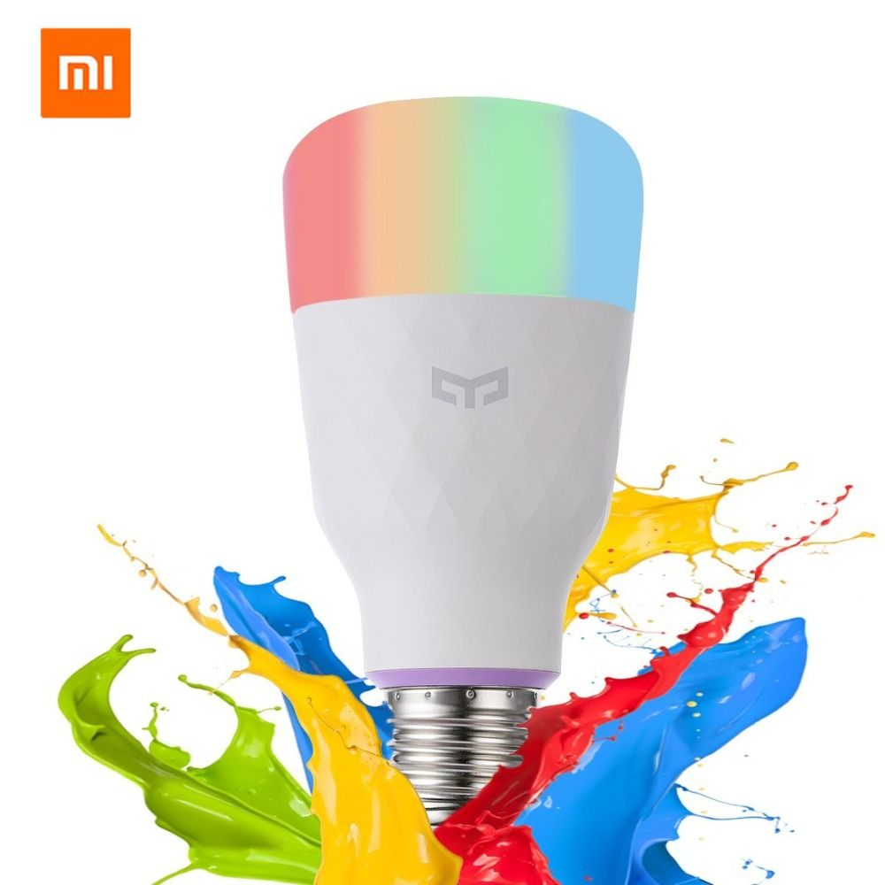 [Anglais Version] Xiaomi Yeelight Smart LED Ampoule Coloré 800 Lumens 10 W E27 Citron Lampe Intelligente Pour Mi Maison App Blanc/RGB Option