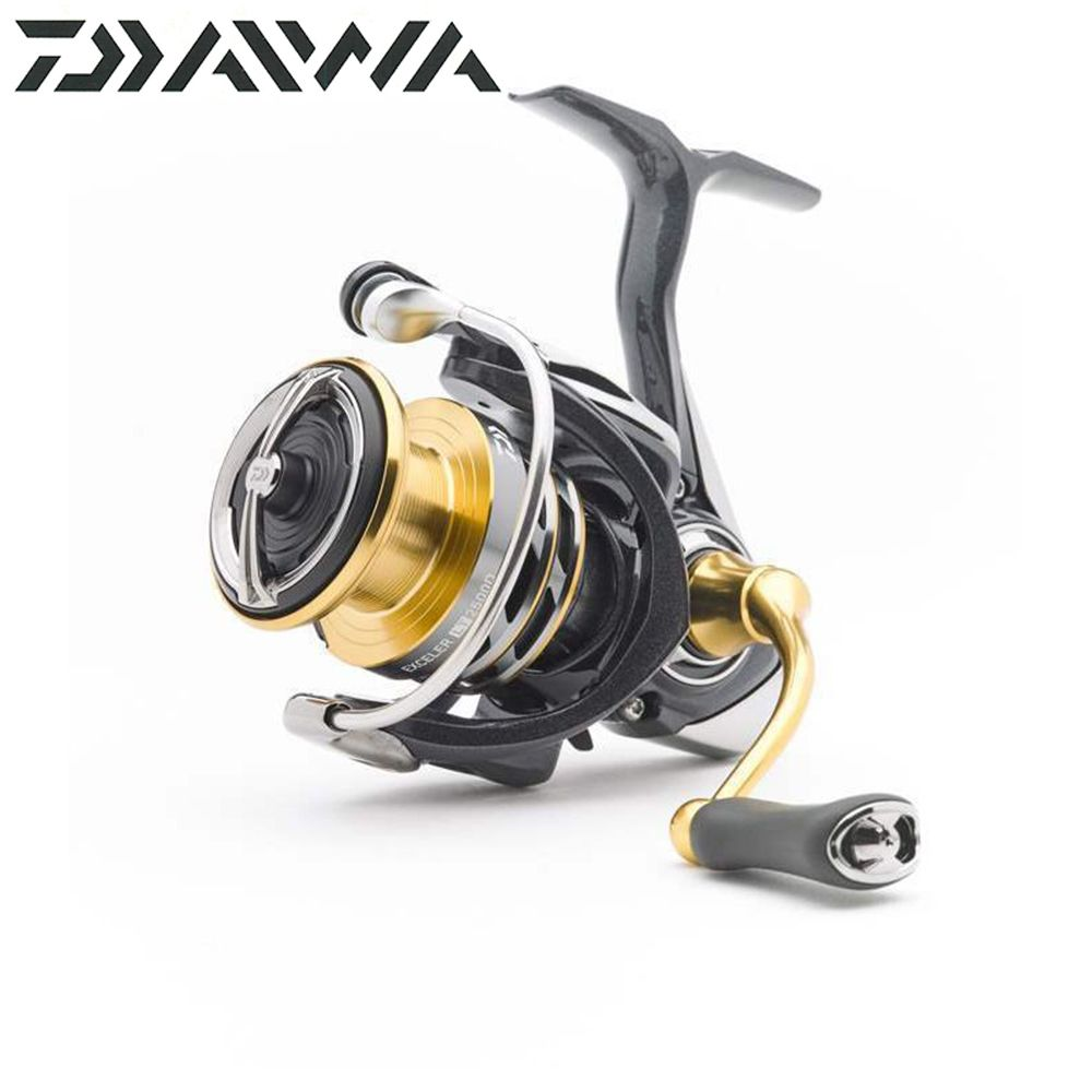 NEW Daiwa fishing reel EXCELER LT (Light&Tough) 1000D/6000D-H Light and strong LC-ABS Metail Spool 4KG-12KG Ultraleve 185g-320g