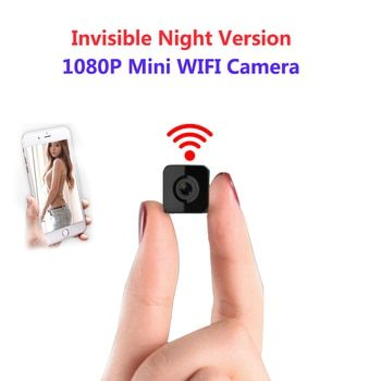 الخفية ليلة النسخة wifi ip كاميرا لاسلكية صغيرة 1080 وعاء ل تسجيل الفيديو دعم التحكم عن المحمولة مسجل pk q7