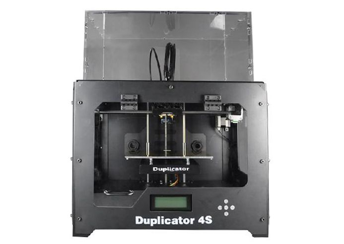 Wanhao Granding Metal Duplicator 4S (Wanhao D4S) 3d printer double extruder with free filaments, memory card, USB cable