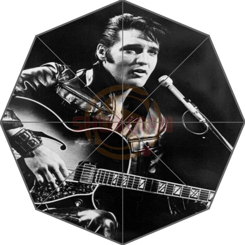 Elvis Presley parapluie personnalisé Design de mode parapluie pour homme et femme de haute qualité livraison gratuite offre spéciale T #-f92ml