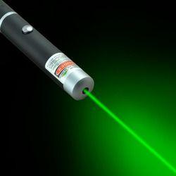 Мощный зеленый/красный/синий фиолетовый лазерный указатель ручка Видимый луч света 5 мВт Профессиональный Мощный портативный