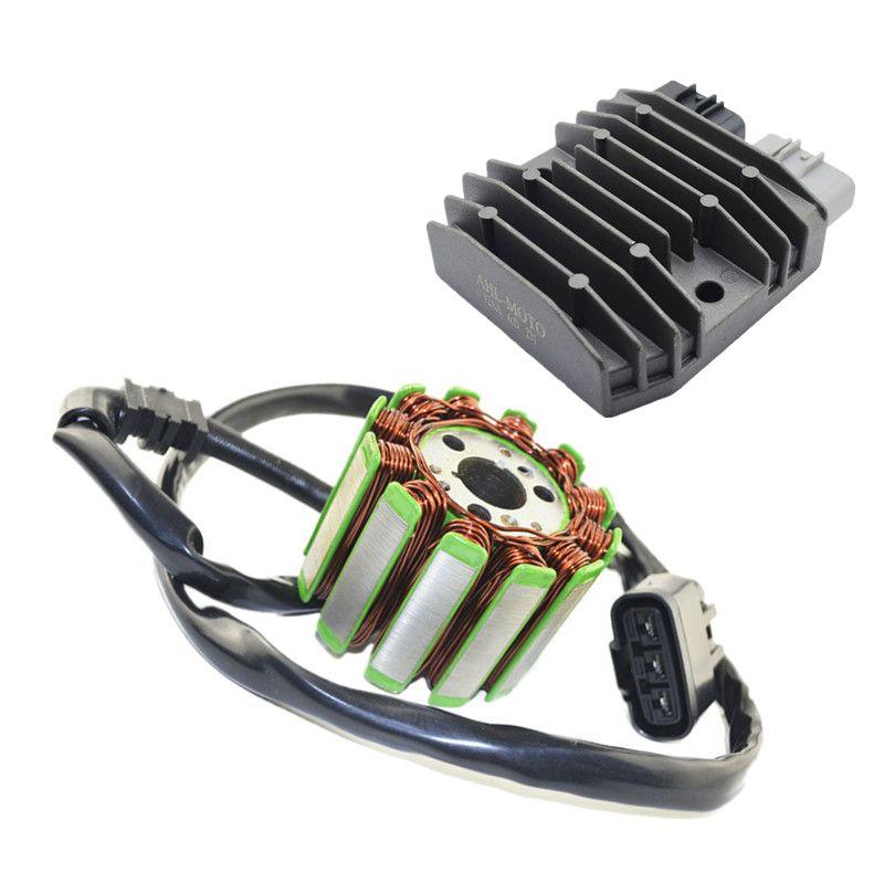 Motorrad generator teile stator coil comp + spannungsreglergleichrichter für yamaha yzf1000 yzfr1 yzf 1000 r1 2004-2008
