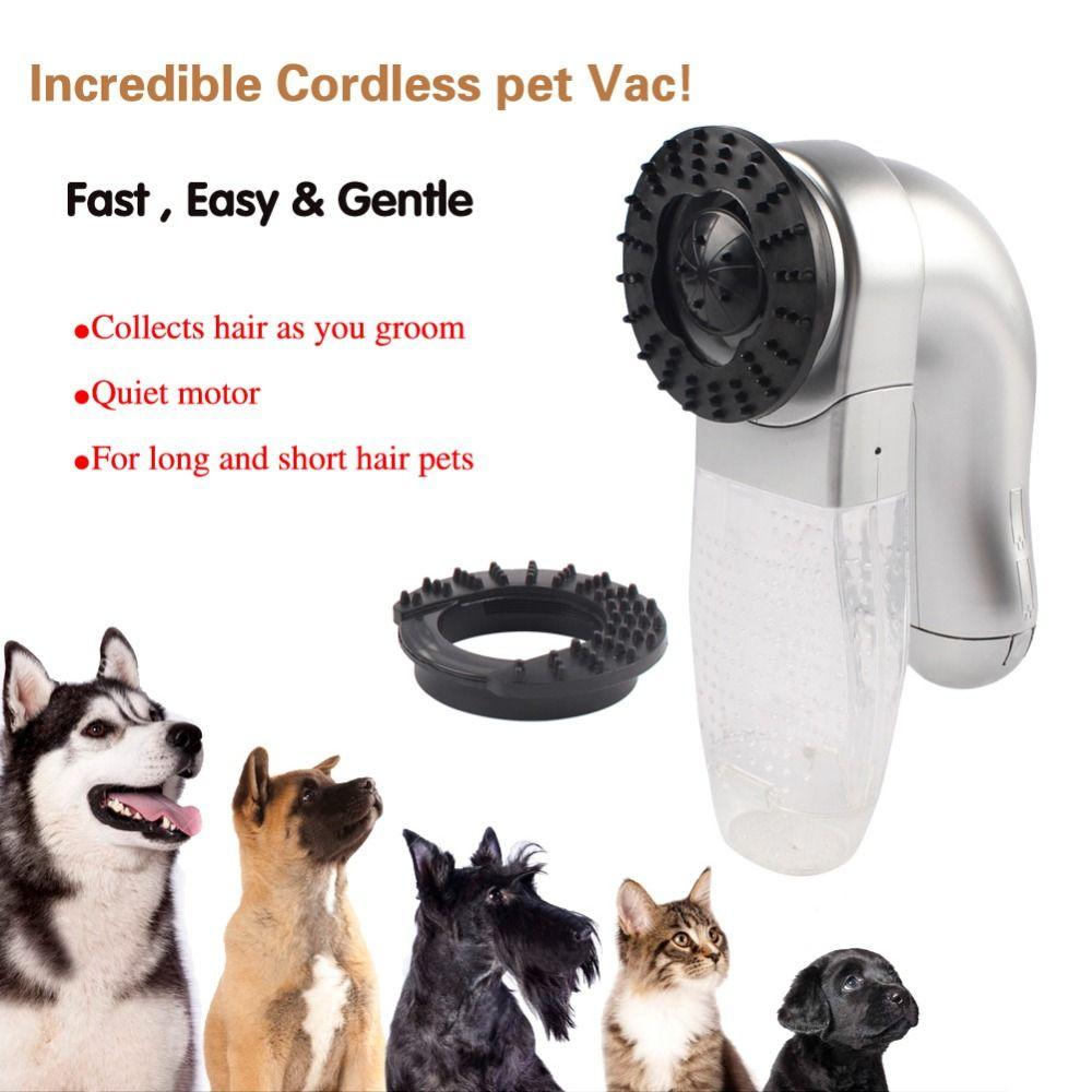 Pet Staubsauger Große Hunde Fell Vac Haar Sammlung Katzen hund Groomer Nützlich Waren für Haustiere Dog Supplies Heimtierprodukte großhandel