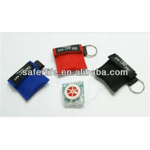 First aid kits resue breathing CPR shield for red cross and CPR training