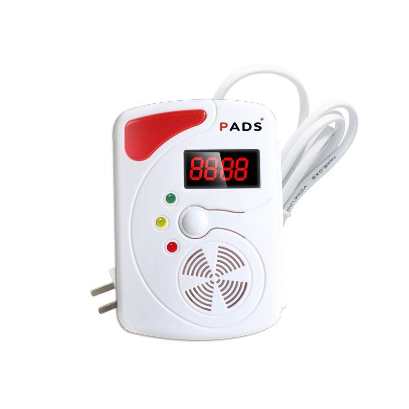 Детектор Беспроводной цифровой светодиодный Дисплей горючих детектор газа смарт-сети сигнализации для сигнализации дома Системы