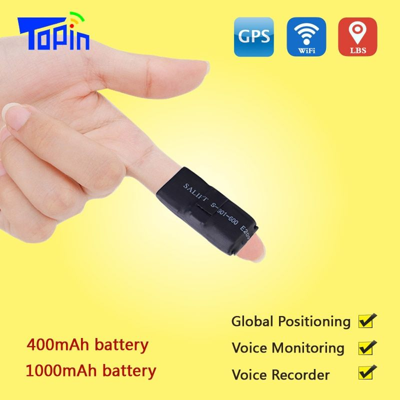 TOPIN S3 GPS Tracker ZX303 GSM AGPS Wifi LBS TF card S7 Locator Alarm Web APP Tracking Voice Recorder Real Time SMS Location