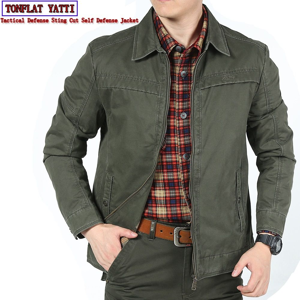 New 2018 Self Defense Security Anti-cut Anti-Sta Hack Jacket Military Stealth Defensa Police Personal Tactics Clothing 3 Colors