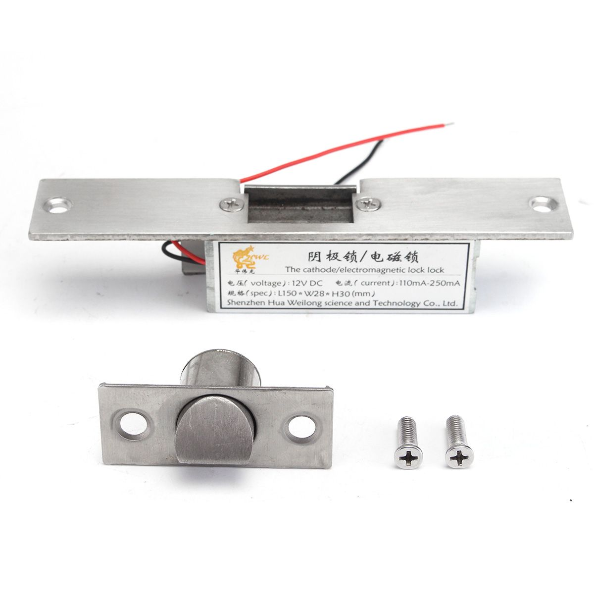 NEUE Safurance 12 v Fail Safe NC Kathode Türöffner Sperre Für Access Control Holz Metall Tür Home Security