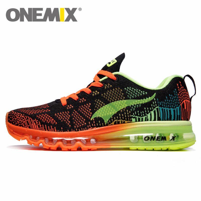 ONEMIX Air course chaussures pour hommes femmes 97 respirant maille athlétique plein Air Jogging baskets Max 12.5