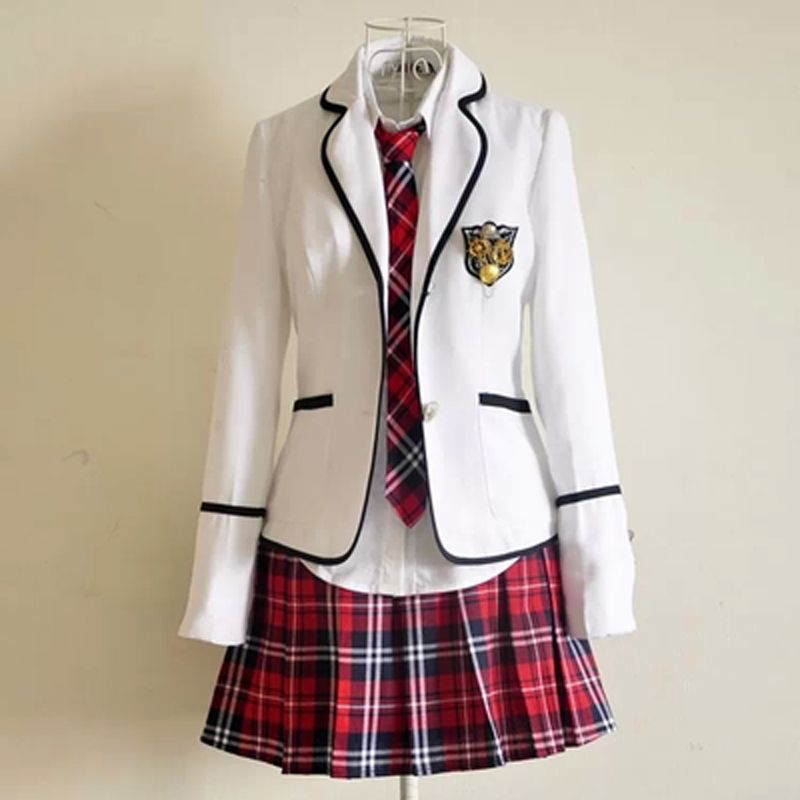 2018 Primary School Uniforms and Long Sleeve Primary School Japanese school uniforms students read British student uniforms